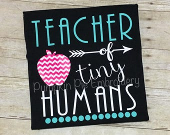 Teacher of Tiny Humans Shirt - HTV