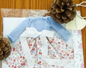 Dress for Blythe//apparel for Blythe//clothes for Blythe