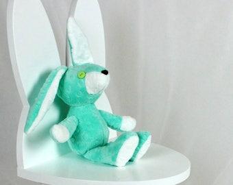 Stuffed Rabbit, Stuffed Bunny toy, Plush Bunny, Soft toy bunny, Stuffed toy, Woodland Stuffed Animals, Handmade Bunny toy, Ami | Nuva