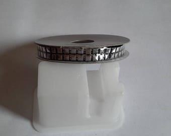Ribbon metal 200 cm 1 cm wide
