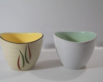 Pretty planters by  Marzi & Remy - WGP, West German Pottery - 4030/14