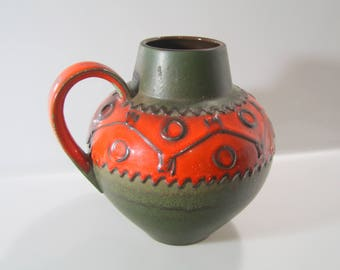 Great Vase by Carstens, 693-23, Fat Lava - West German Pottery, mid century, mcm WGP