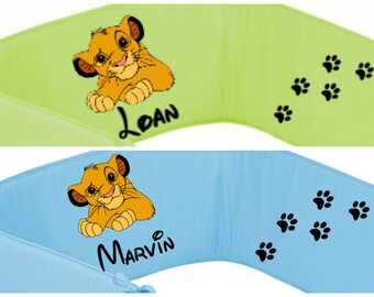 Round bed green or blue Simba