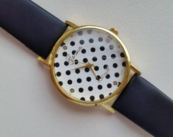 Polka Dot Watch by Geneva