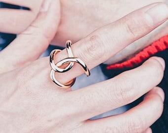 Interlocking Loop Statement Ring_Gold