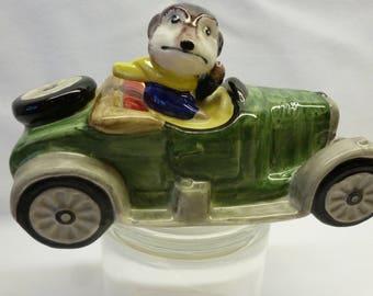 Carlton Ware Model of Car Chipmink driving