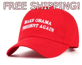 Make OBAMA President Again Hat (FREE SHIPPING!)
