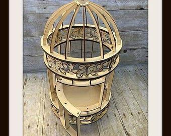 Wood Bird Cage, Bird Cage Centerpieces, Wooden Birdcages, Large Bird Cage, Wedding Centerpieces, Gift Table Decor, Outdoor Wedding decor