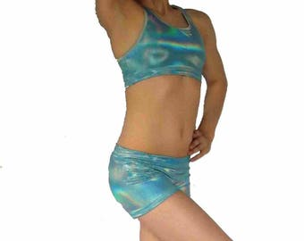 Holographic Mystique Shorts