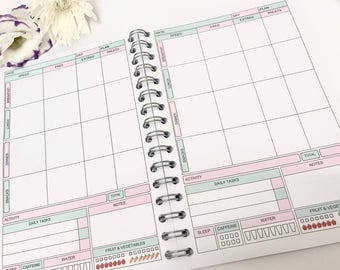 13wk SW Food Diary Diet Journal ,Slimming World Compatible Tracker,Notebook - Choose Your Cover - Food Diary 10