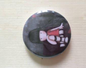 Back flat 3 cm GORJUSS badge