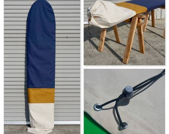 Custom Surfboard Bag / Surfboard Sock - Desert Valley