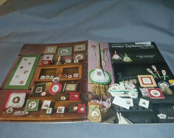 Counted Cross Stitch Patterns, Country Christmas Classics, Collection One, Canterbury Designs, 1982