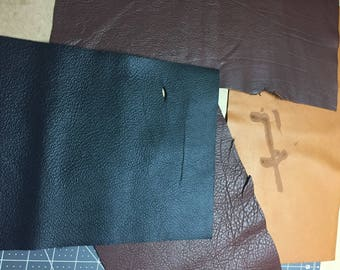 CLEARANCE rack, leather journal or photo album, imperfections