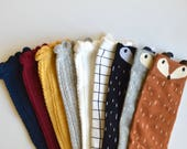 Size 6-9 Knee High Socks - Pick your style!