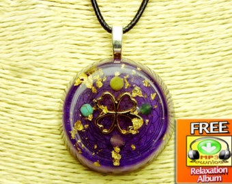 Orgone Pendant for Attracting Good Luck, Wealth and Abundance and to Enhance Balancing Your Chakras