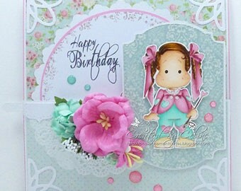 Birthday Magnolia card