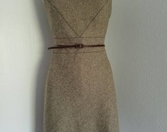 Ann Taylor Light Wool fabric dress.