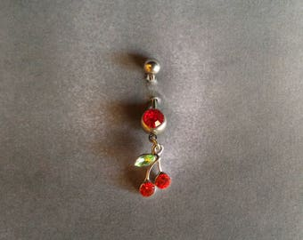 belly button ring Cherries