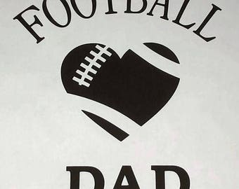 Football Dad Sticker / Decal