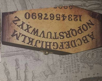 Ouija Board Coffin Box
