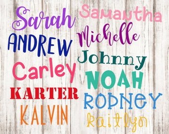 Name Decal, FREE Shipping, Name for Cup, Cup Decal, Bottle Decal, Label, Name Label, Sippy Cup Decal, Sippy Cup Label, Childs Label, Pantry