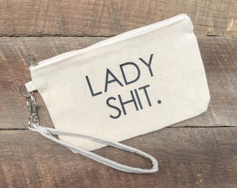 Lady Shit, Travel Bag, Makeup Bag FREE SHIPPING