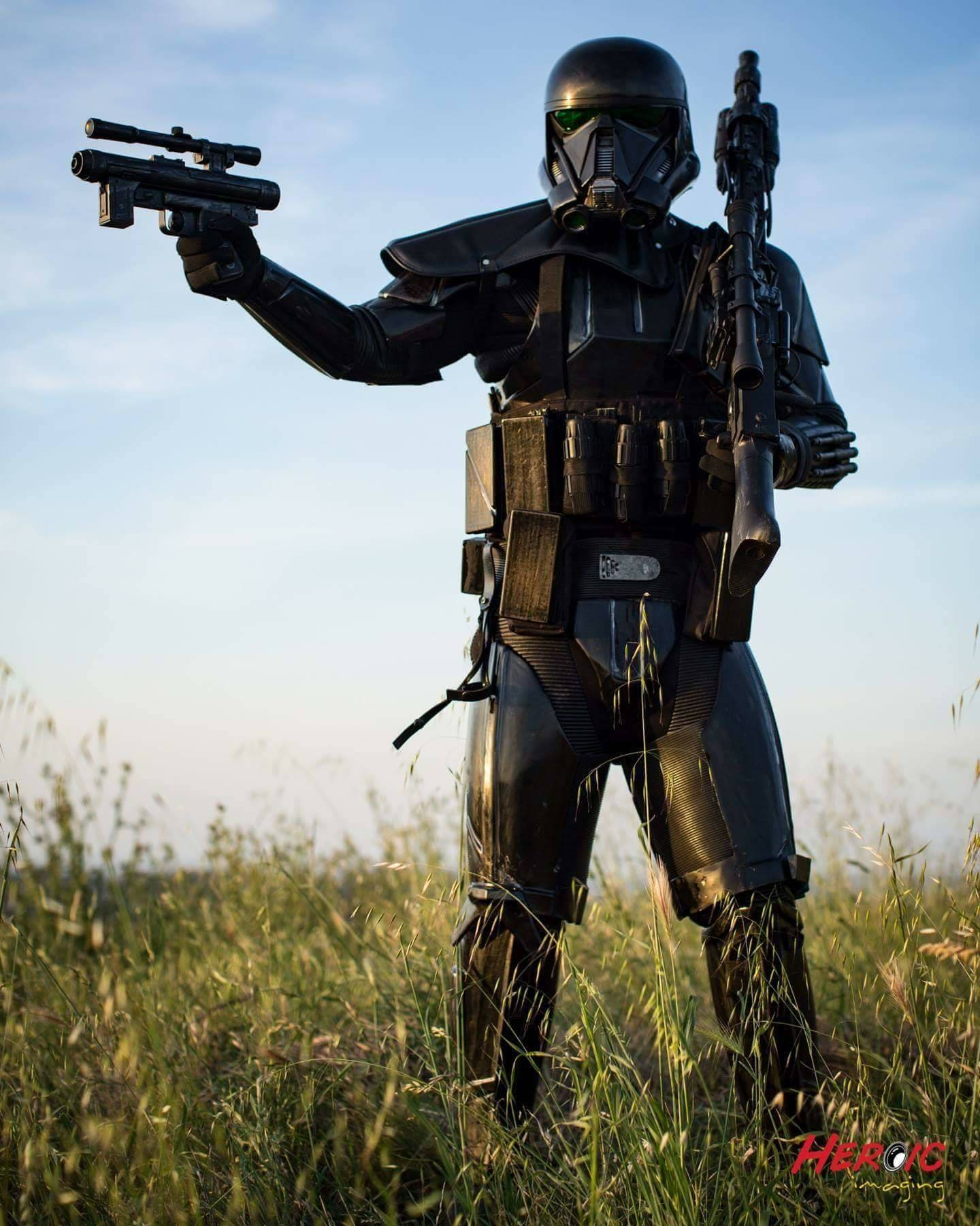 death trooper costume armor kit star wars rogue one. Black Bedroom Furniture Sets. Home Design Ideas
