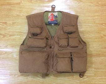 Vintage Keny Club Goose Down  Hunting Fishing Vest