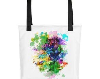Watercolor Tiger Tote bag