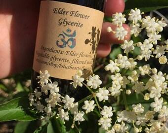 Elder Flower Glycerite