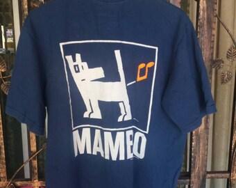 Vintage 90s Mambo tshirt spellout/small/made in australia/mambo design
