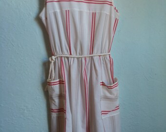 Striped nautical sundress 1950's size small-medium