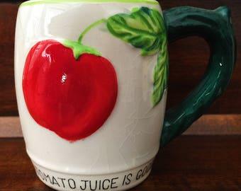 Vintage Juice Mug, Japan