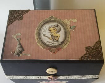 Lovely decorated box