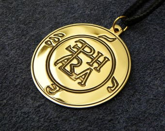 Monogram of the Archangel Raphael, Seal of Raphael (Amulet for Health)