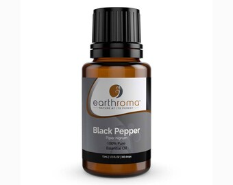 Black Pepper Essential Oil 5 mL, 15 mL, 30 mL | 100% Pure Therapeutic Grade