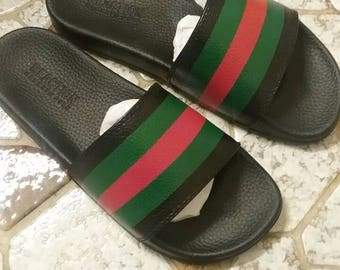 Gucci Inspired Slide
