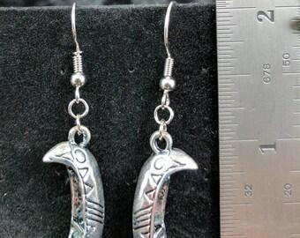 Canoe earrings #280