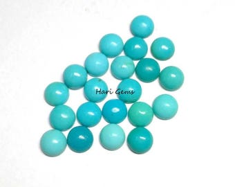 10 Pieces 2.50mm Turquoise Cabochon Round Gemstone AAA Quality 100% Natural Arizona sleeping beauty Turquoise Round Cabochon Turquoise Cabs