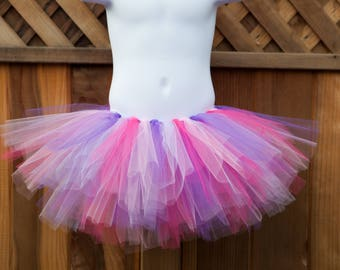 Dark Pink, Purple, Light Pink and Lavender Tutu/Doc McStuffins Tutu - Other Colors Available
