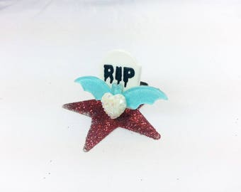 Ring tombstone RIP - Halloween