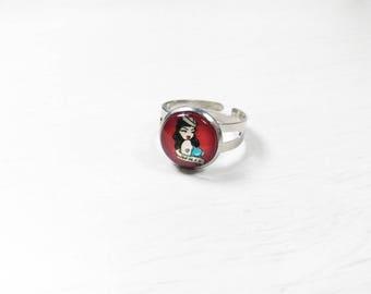Rockabilly Pin ring ' up - Sailor