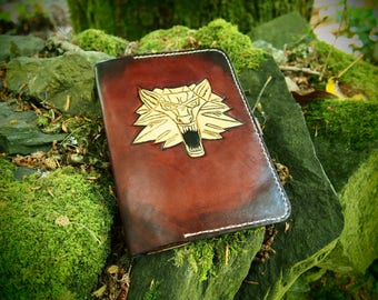 witcher kindle, witcher cover, witcher leather cover, kindle paperwhite cover