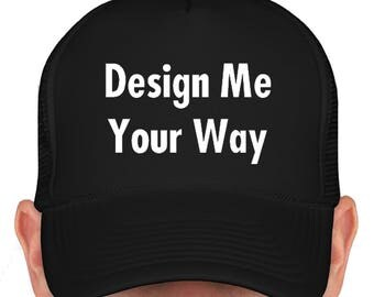 Personalized Custom Cap. Free Shipping! Design What You Want!