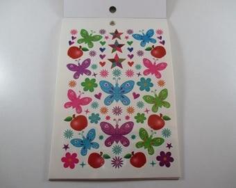 280 Tattoos, Tattoos, ephemeral, multicolored Board.