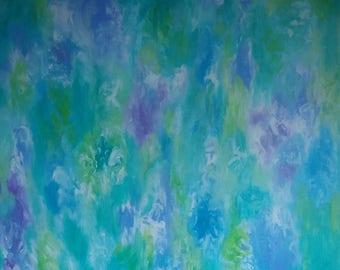 A Meditation, Abstract Art, Acrylic Painting, Wall Art, Canvas Art, Modern Art, Contemporary Art, Home Decor,