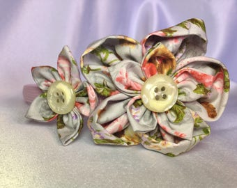 Pink Girls hair accessories, headband,  Flower hairband, girls flower headband, Flower head band, pink, hair accessories, alice band