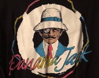 Vintage 80s Panama Jack dead stock shirt M