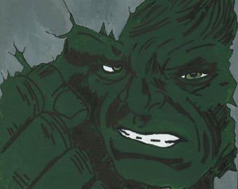 Hulk Smash Canvas 20x20cm